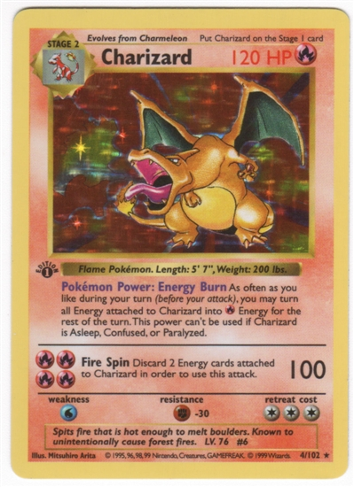 Identifying Early Pokémon Cards – The Relentless Dragon Game