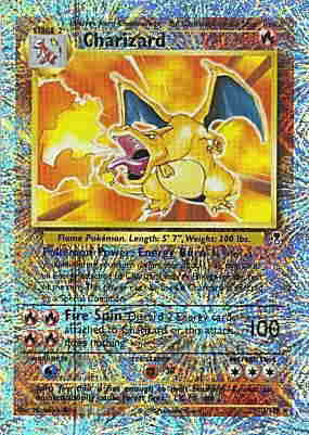 Charizard Legendary Collection Reverse Holo